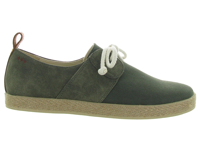 Armistice chaussures a lacets cargo one snoop kaki5189001_3