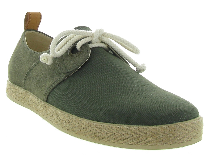 Armistice chaussures a lacets cargo one snoop kaki5189001_4