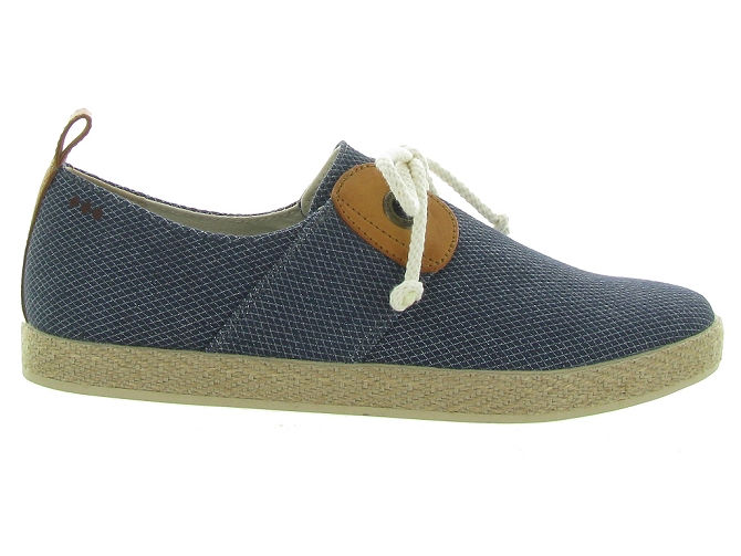 Armistice chaussures a lacets cargo one samba marine5189101_3