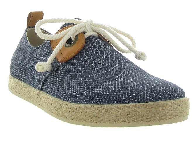 Armistice chaussures a lacets cargo one samba marine5189101_4