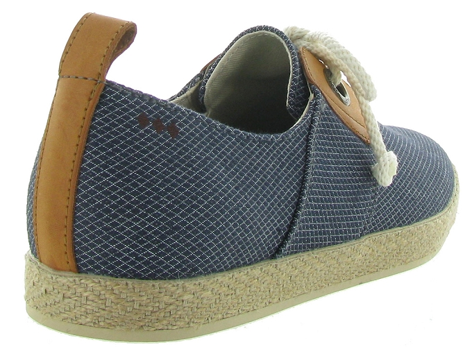 Armistice chaussures a lacets cargo one samba marine5189101_6