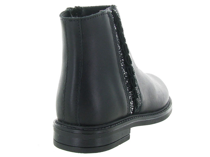 Bellamy bottines et boots castel noir5215701_5