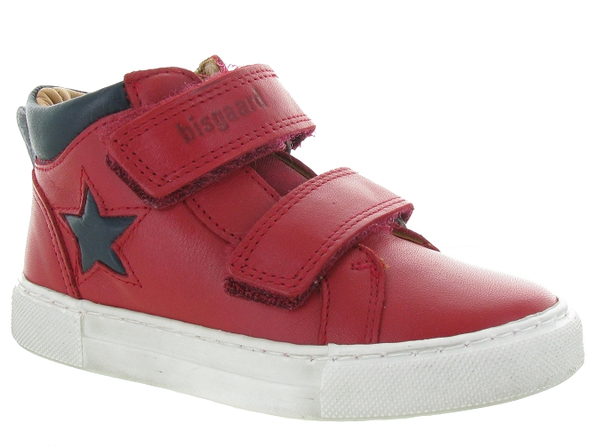 Bisgaard chaussures a scratch 40722 jacob rouge