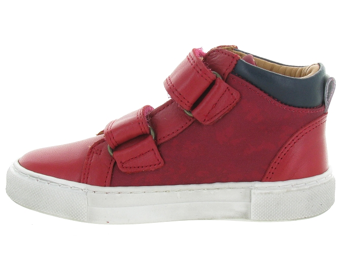Bisgaard chaussures a scratch 40722 jacob rouge5242903_4