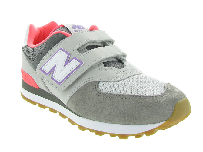 New balance chaussures a scratch iv574 yv574 gris