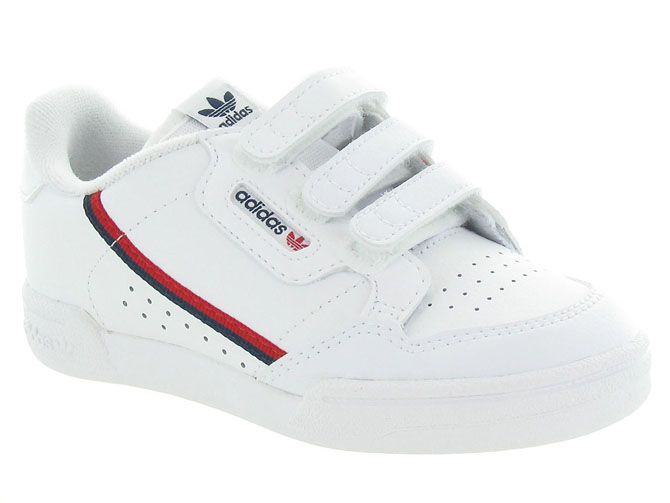 Adidas baskets et sneakers continental 80cf blanc