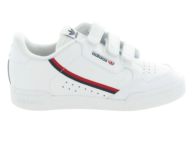 Adidas baskets et sneakers continental 80cf blanc5253801_2