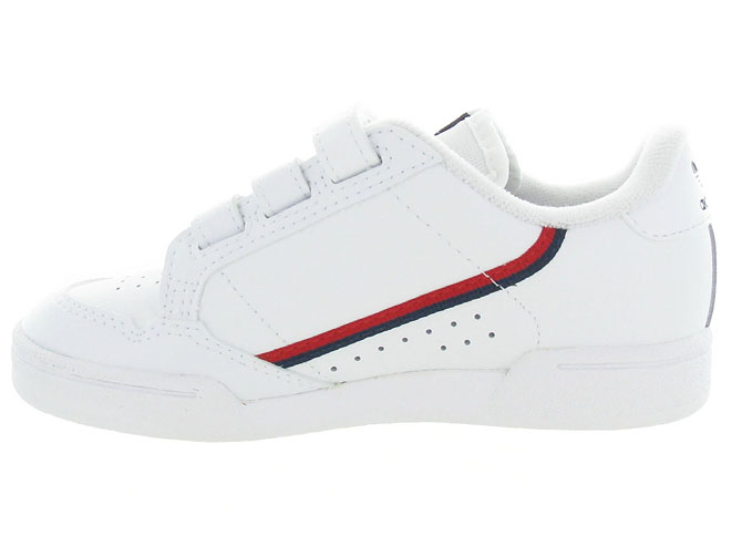 Adidas baskets et sneakers continental 80cf blanc5253801_4