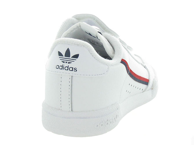 Adidas baskets et sneakers continental 80cf blanc5253801_5