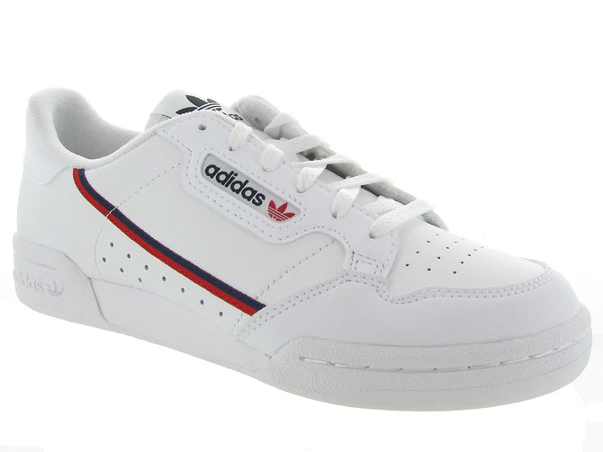 Adidas baskets et sneakers continental 80j blanc