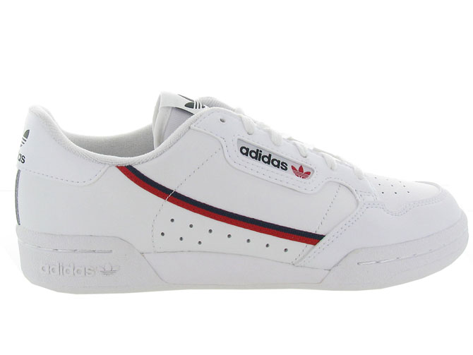 Adidas baskets et sneakers continental 80j blanc5253901_2