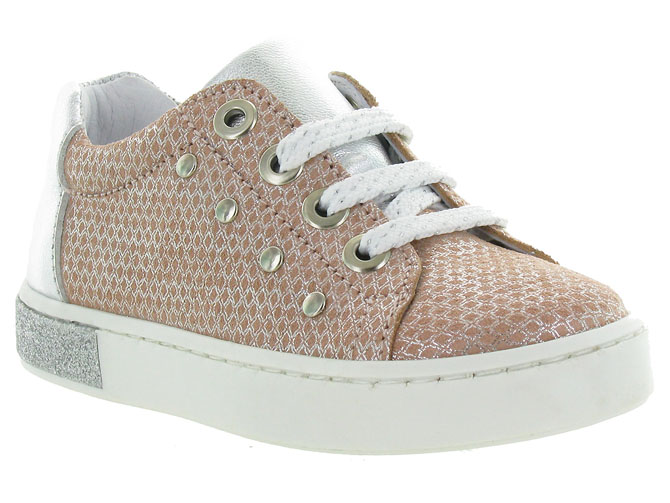 Bellamy chaussures a lacets matea rose