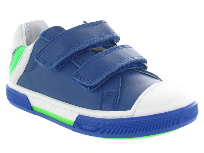 Bellamy chaussures a scratch grey bleu royal