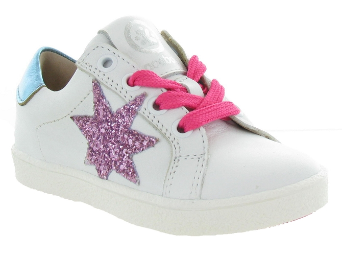 Acebos chaussures a lacets 9433cr rose