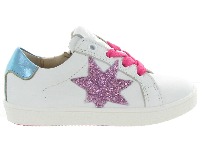 Acebos chaussures a lacets 9433cr rose5299202_2
