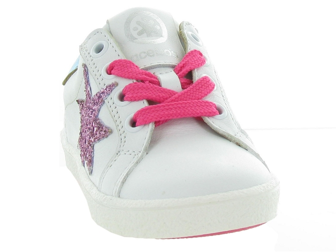 Acebos chaussures a lacets 9433cr rose5299202_3