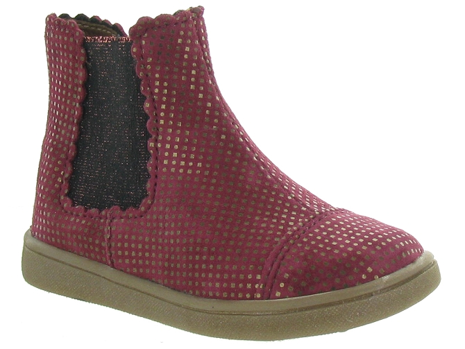 Bellamy bottines et boots en bordeaux