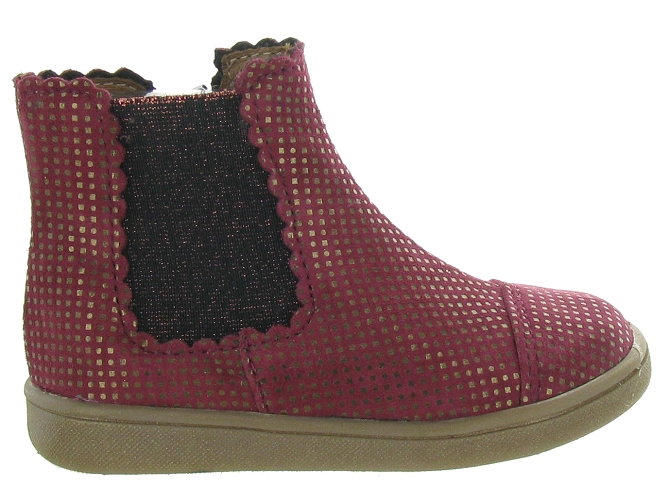 Bellamy bottines et boots en bordeaux5314501_2