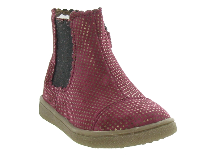 Bellamy bottines et boots en bordeaux5314501_3