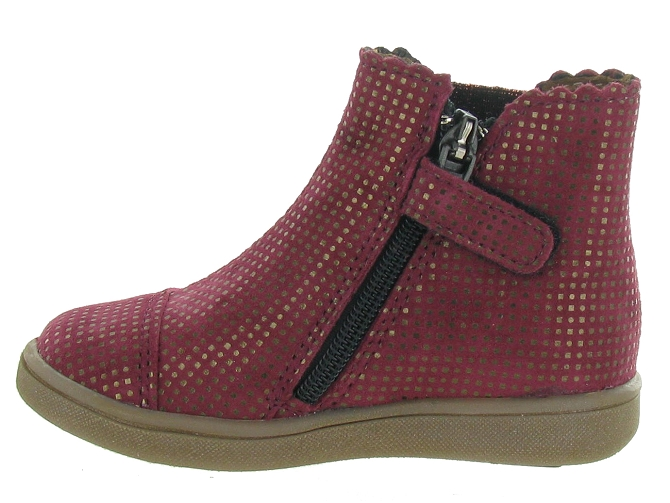 Bellamy bottines et boots en bordeaux5314501_4