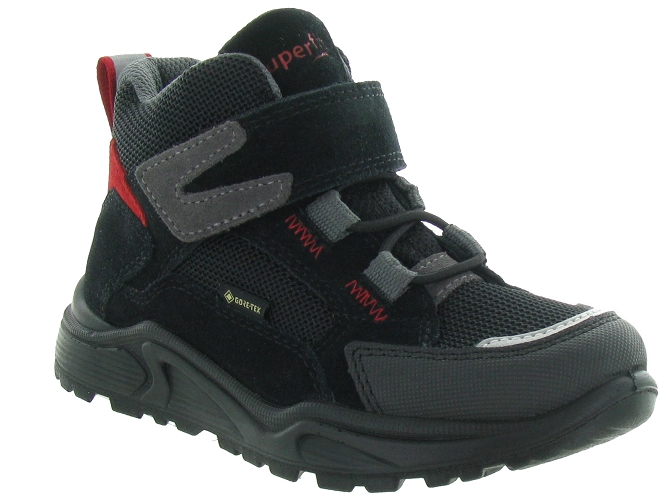 Superfit chaussures a scratch 325 goretex noir