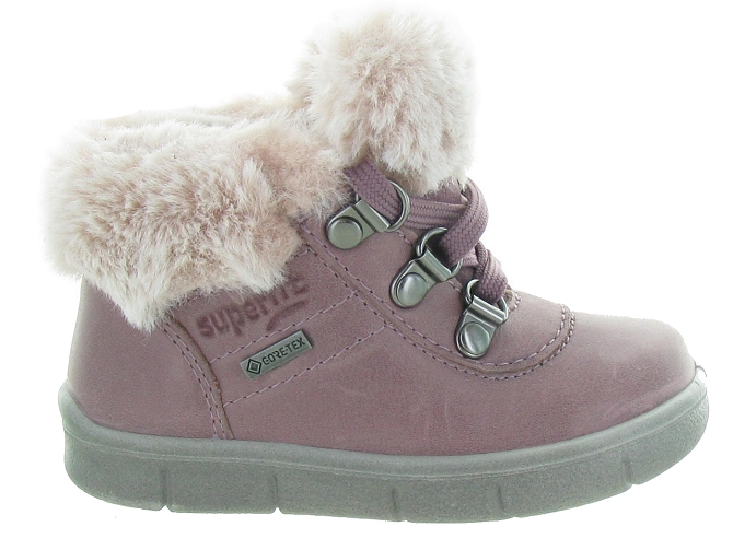 Superfit apres ski bottes fourrees 433 goretex rose5317702_2