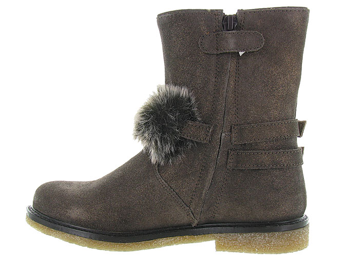 Apples and pears bottines et boots 8334 marron fonce7033102_4