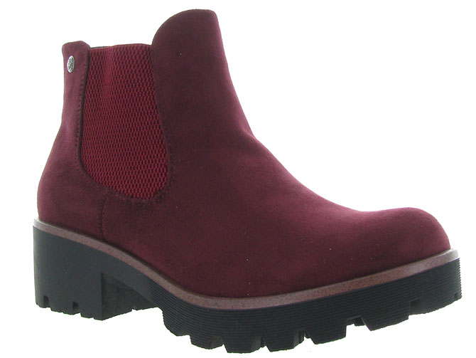 Rieker bottines et boots 99284 bordeaux