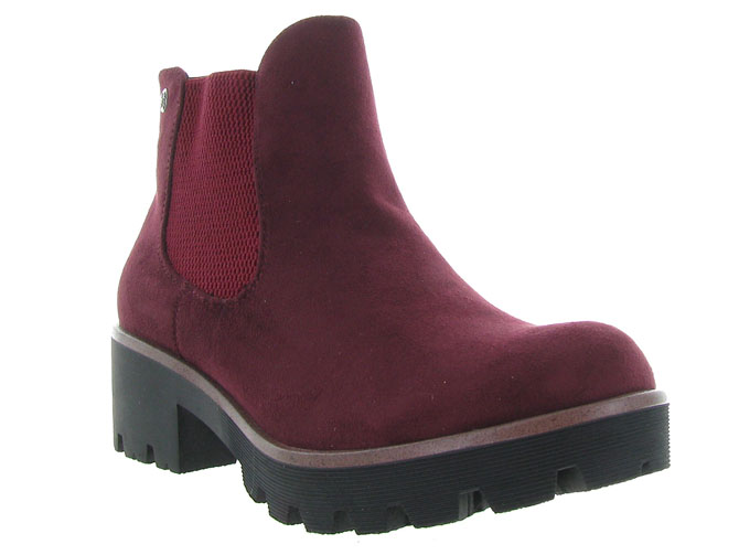 Rieker bottines et boots 99284 bordeaux7064802_3