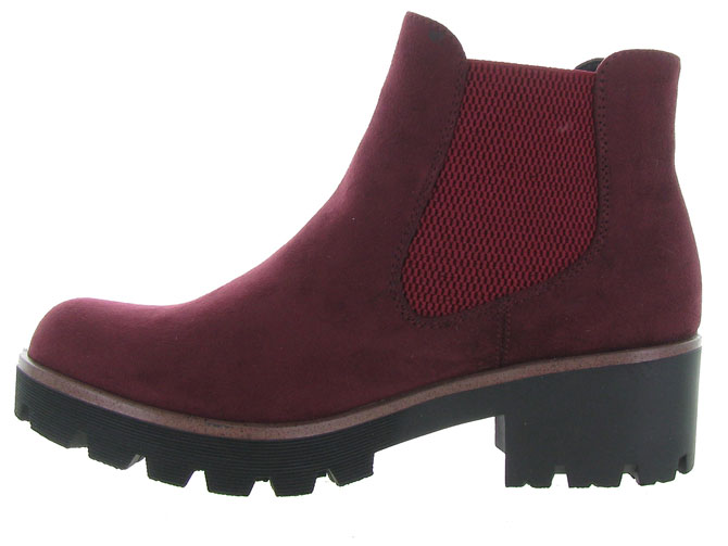Rieker bottines et boots 99284 bordeaux7064802_4