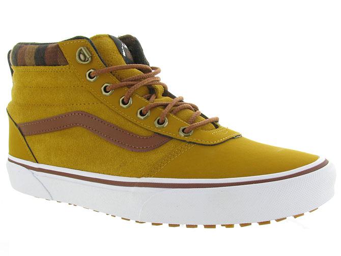 Vans baskets et sneakers mn ward hi mte jaune