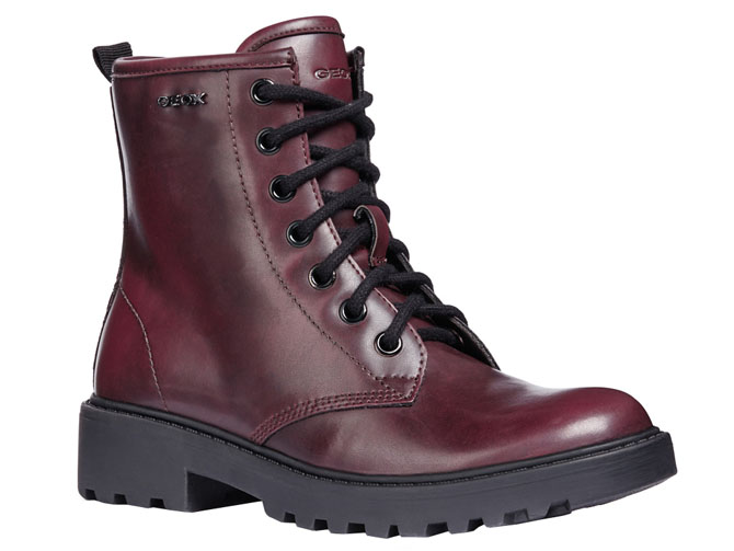 Geox bottines et boots j5420k casey bordeaux
