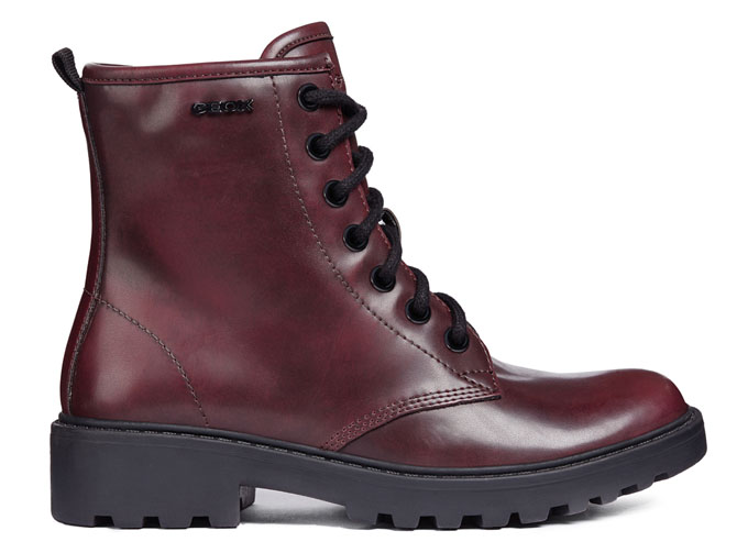 Geox bottines et boots j5420k casey bordeaux7071702_2