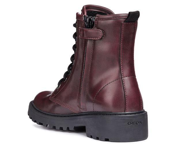 Geox bottines et boots j5420k casey bordeaux7071702_4