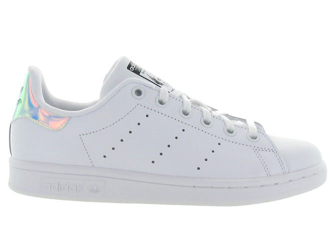 Adidas baskets et sneakers stan smith junior blanc7088301_2