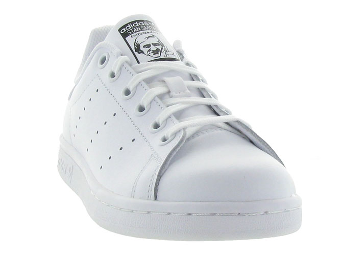 Adidas baskets et sneakers stan smith junior blanc7088301_3