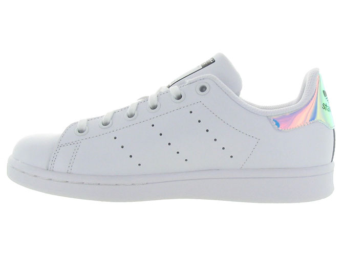 Adidas baskets et sneakers stan smith junior blanc7088301_4