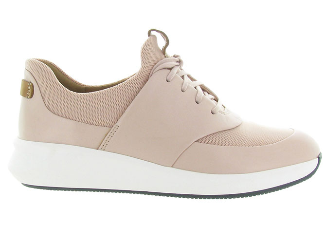 Clarks baskets et sneakers un rio lace rose7091103_2