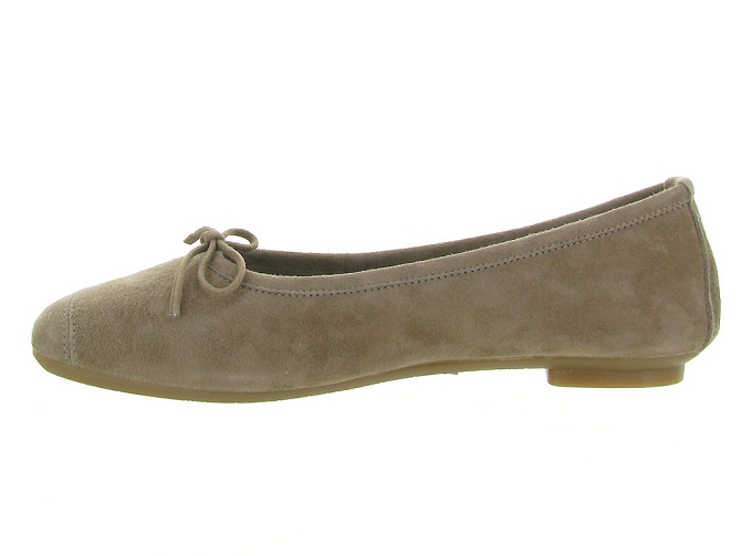 Reqins ballerines harmony peau taupe7092508_4