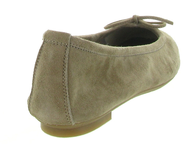 Reqins ballerines harmony peau taupe7092508_5