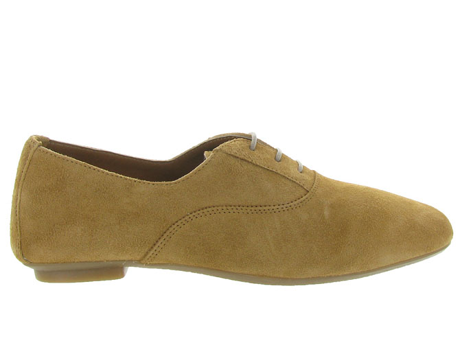 Reqins chaussures a lacets hydra peau camel7092701_2