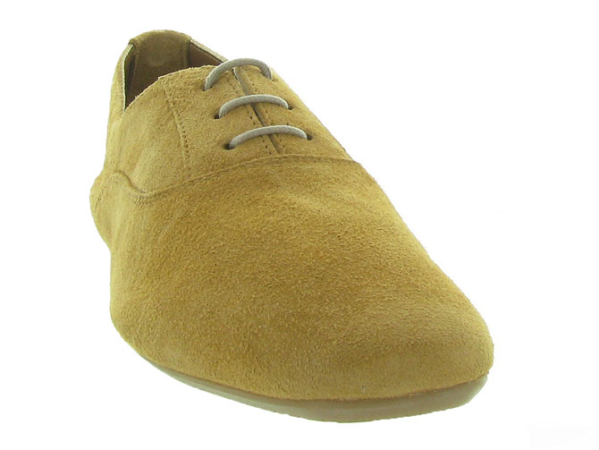 Reqins chaussures a lacets hydra peau camel7092701_3