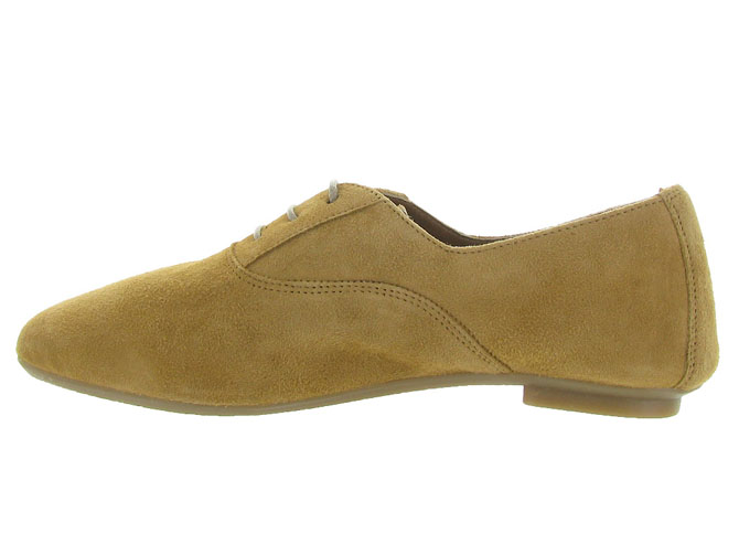 Reqins chaussures a lacets hydra peau camel7092701_4