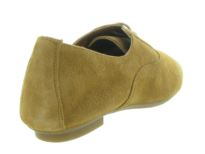 Reqins chaussures a lacets hydra peau camel7092701_5