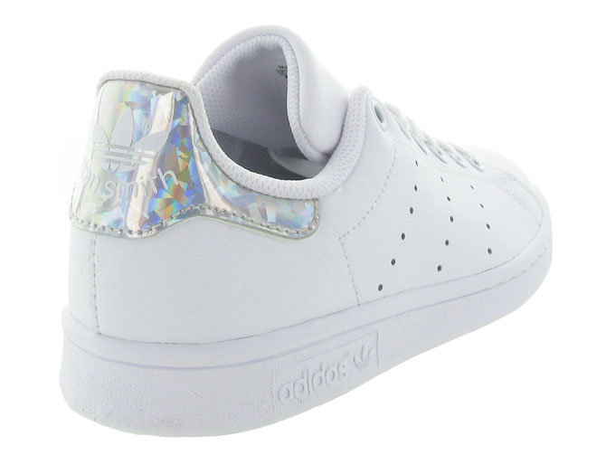 Adidas baskets et sneakers stan smith junior blanc7104001_5