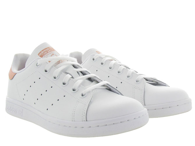 Adidas baskets et sneakers stan smith junior blanc7104101_6
