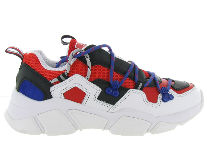 Tommy hilfiger baskets et sneakers city voyager chunky sneaker rouge7125303_2
