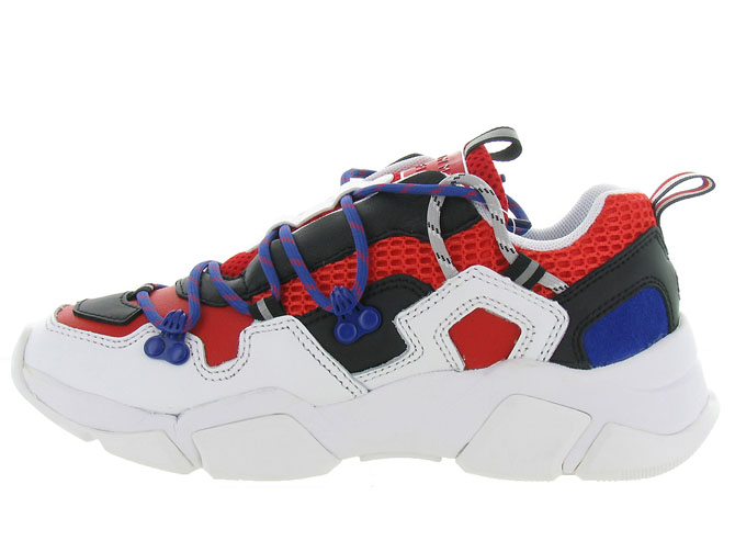 Tommy hilfiger baskets et sneakers city voyager chunky sneaker rouge7125303_4