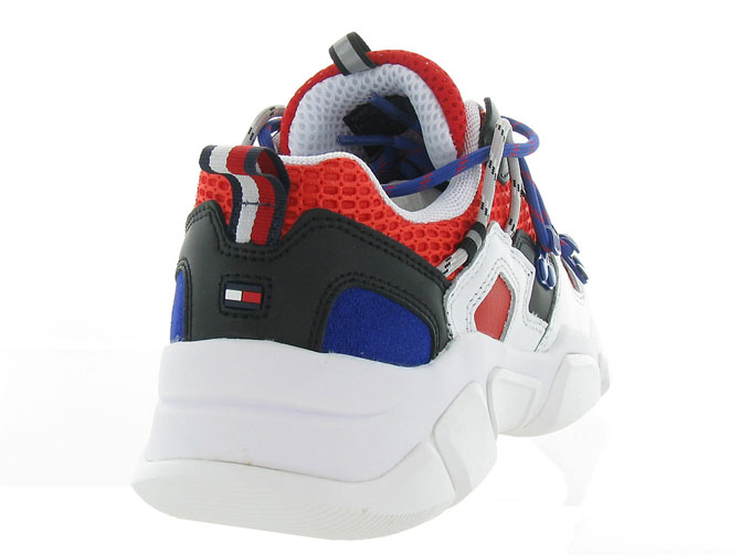 Tommy hilfiger baskets et sneakers city voyager chunky sneaker rouge7125303_5