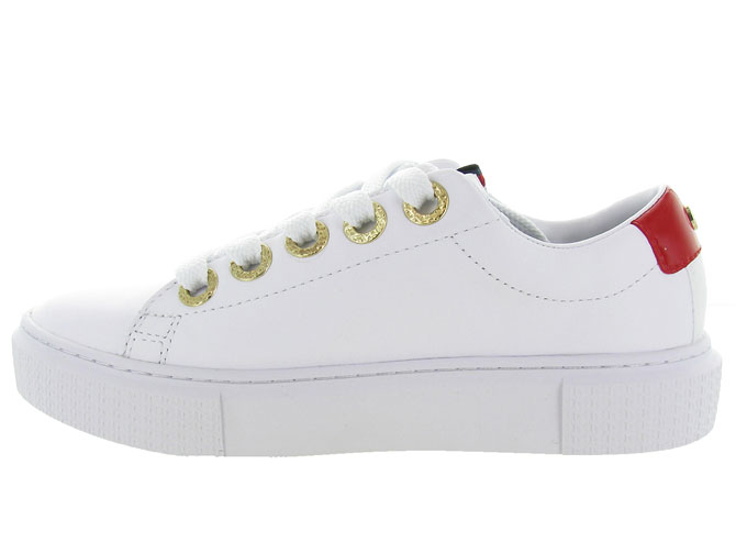 Tommy hilfiger baskets et sneakers leather elevated tommy sneaker blanc7125402_4